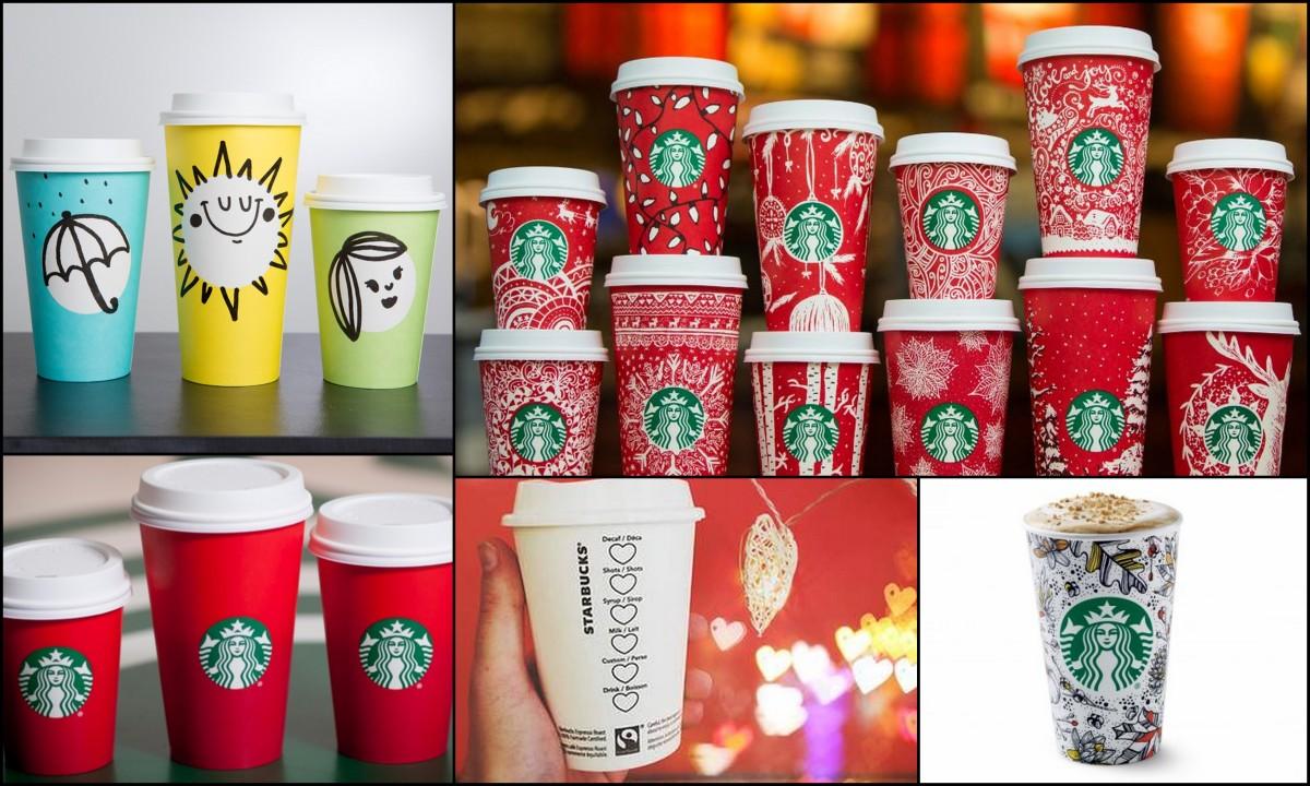 Starbucks'ın 5 Bardak Tasarımı ve Marka Konumlandırması